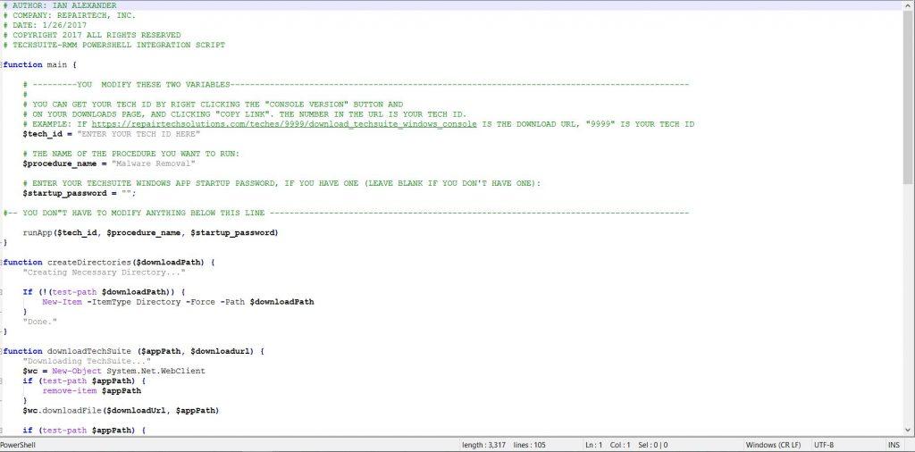 TechSuite Integrations - RepairTech