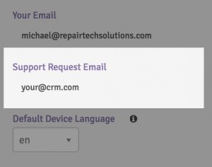 request-email