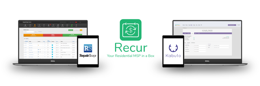 Introducing Recur – The All New Integration for RepairShopr and Kabuto